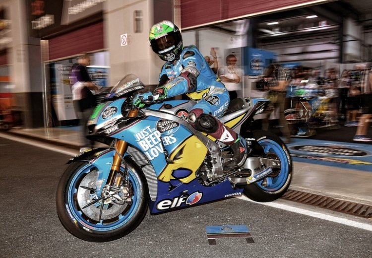 Sale de boxes Franco Morbidelli